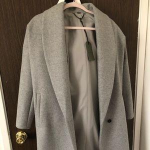 ALLSAINTS grey coat